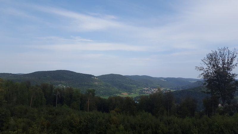 Aussicht vom Oberbecken