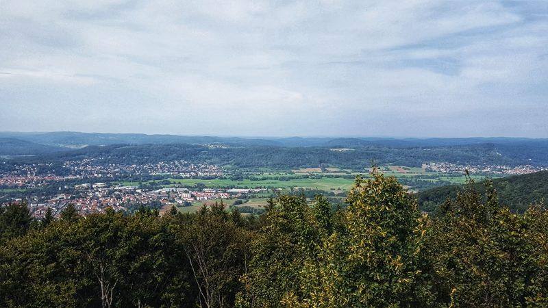 Wanderung zum Arzbergturm bei Hersbruck