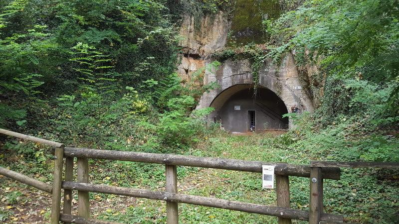 Wanderung Houbirg - Eingang zum Doggerstollen