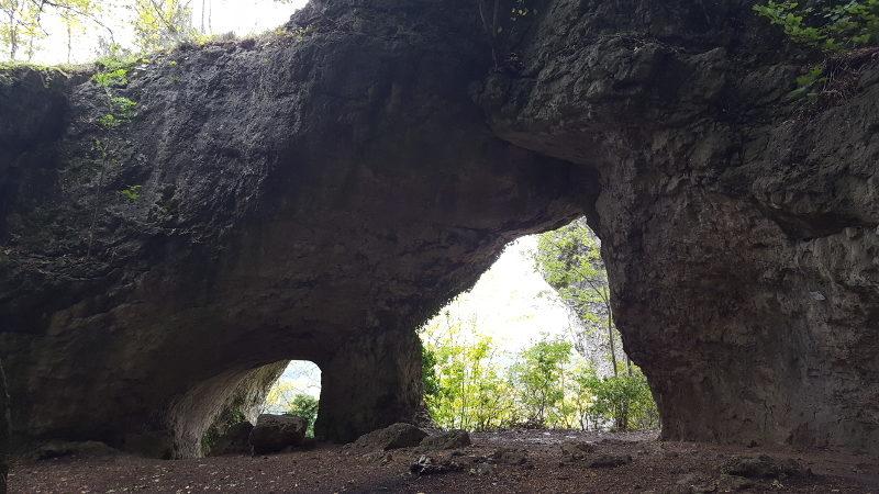 Wanderung Houbirg - Doggerstollen, Steinernes Gässl und Hohler Fels