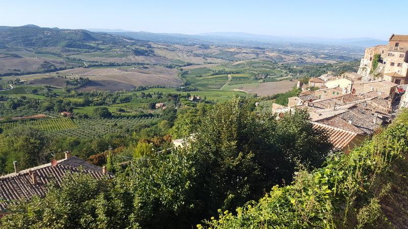 Montepulciano - Ausblick auf die Umgebung