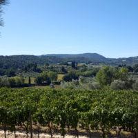 Radtour in den Weinbergen von Montepulciano
