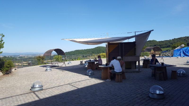 Radtour in den Weinbergen von Montepulciano - Weinprobe