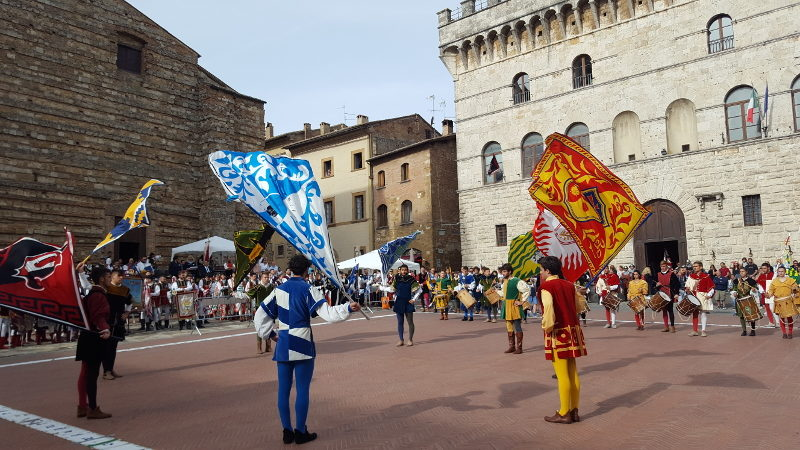 Montepuliciano - traditionelles Fest