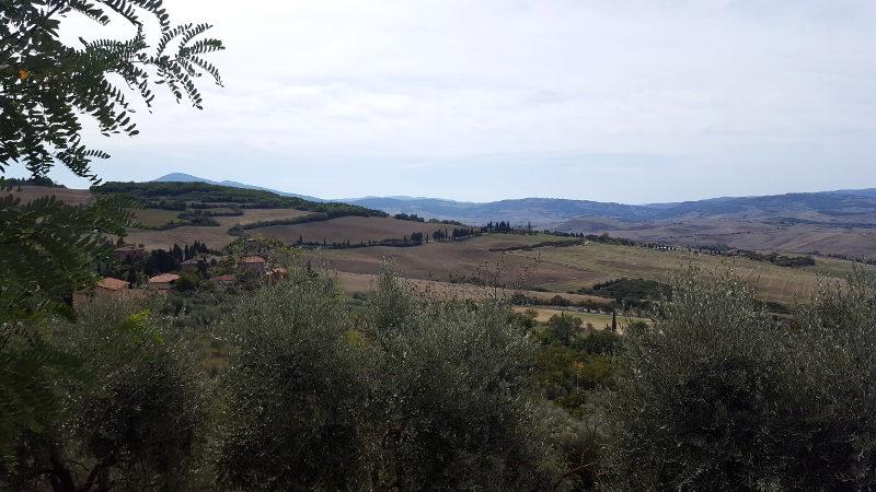 Wandertour von Montepulciano nach Pienza, Aussicht