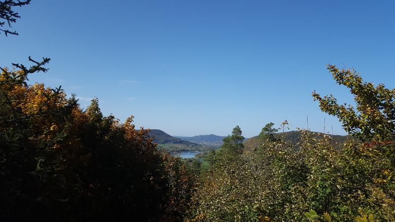 Wanderung Molsberger Tal - Aussicht bei Vogelfels
