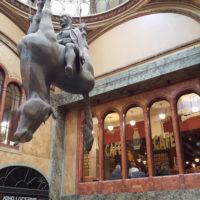 Prag Lucerna Passage Wenzel-Statue