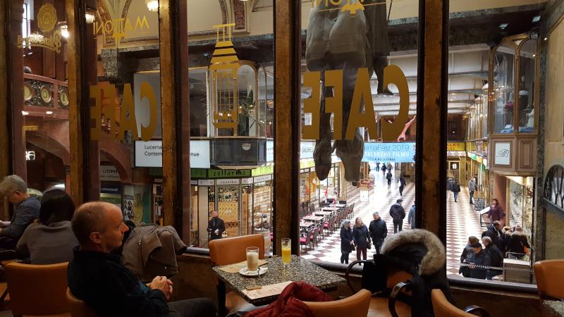Prag Lucerna Kaffeehaus