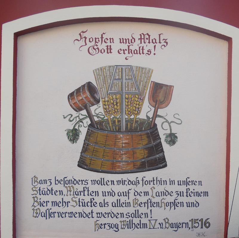 Bier - Reinheitsgebot und Geschichte