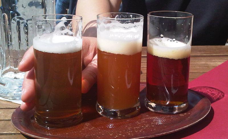 Bierprobe in Bamberg