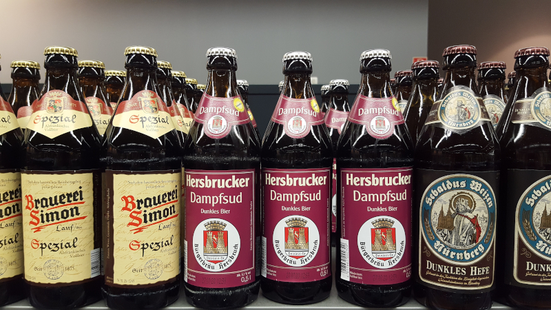 Bier - Biersorten, Bierbrauen, Inhaltsstoffe