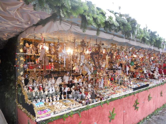Christkindlesmarkt Nürnberg Bude