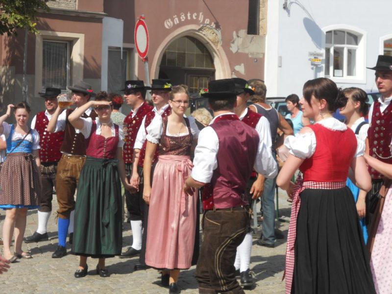 Auf der Sulzbacher Woiz-Kirwa