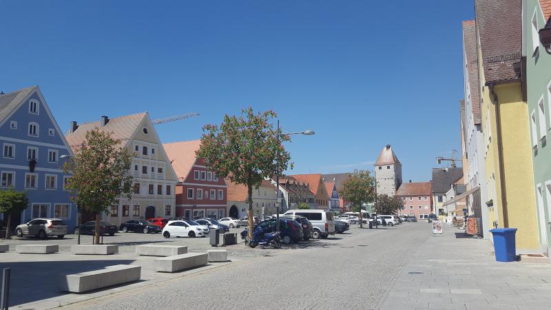 Freystadt historischer Marktplatz