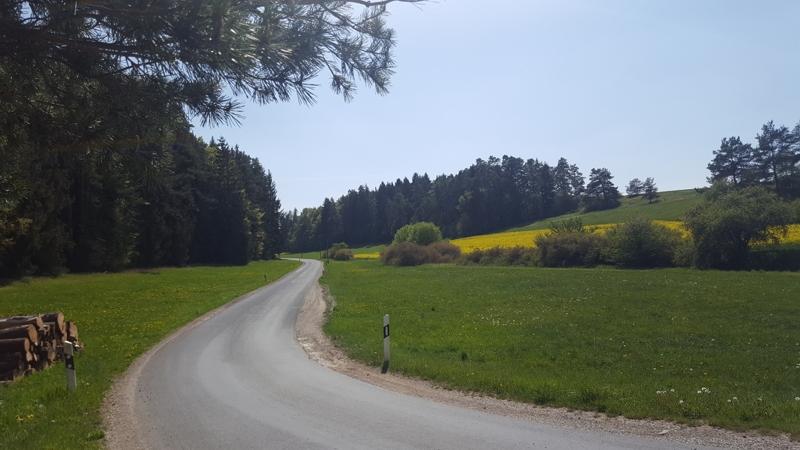 Radtour, nach Sankt Lampert