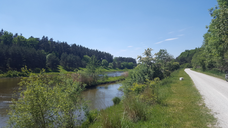 Radtour zum Rothsee - am Main-Donau-Kanal