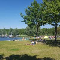 Rothsee, Badestelle Heuberg