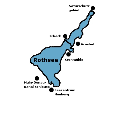 Rothsee Karte