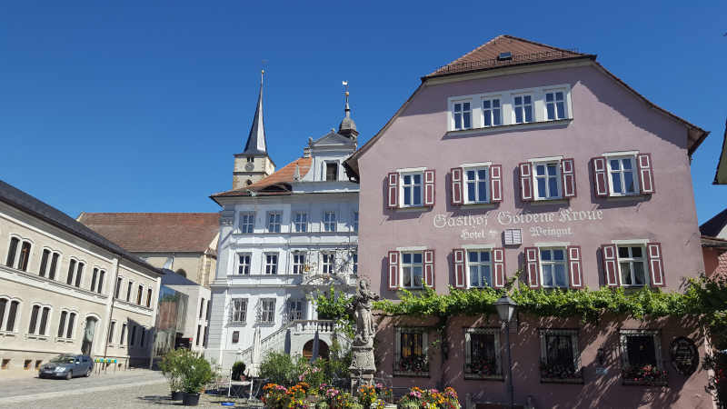 Iphofen Marktplatz