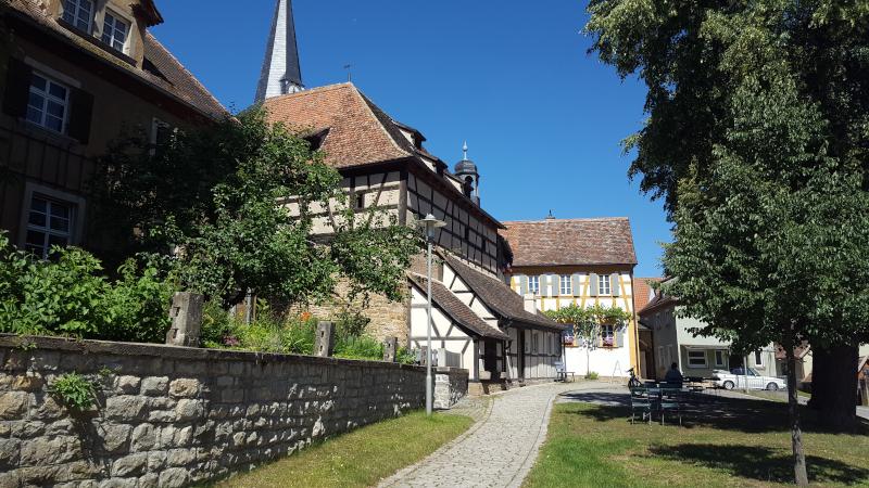 Mönchsondheim Kirchenburg