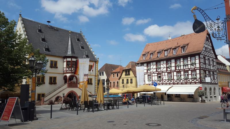Volkach Marktplatz