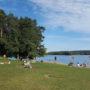 Brombachsee im Fränkischen Seenland