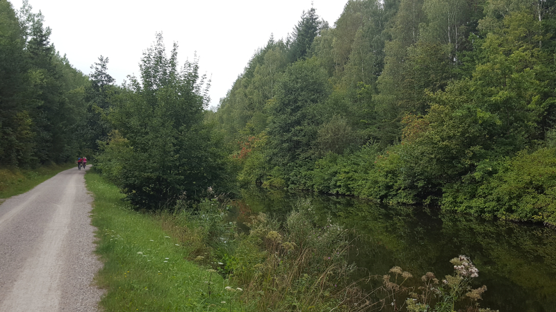 Radweg zum Altmühlsee