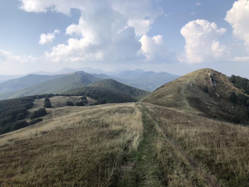 Über den Apennin zum Meer Etappe 1 - Von Serramazzoni nach Pavullo