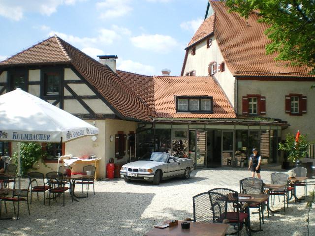 Burg Hartenstein Biergarten